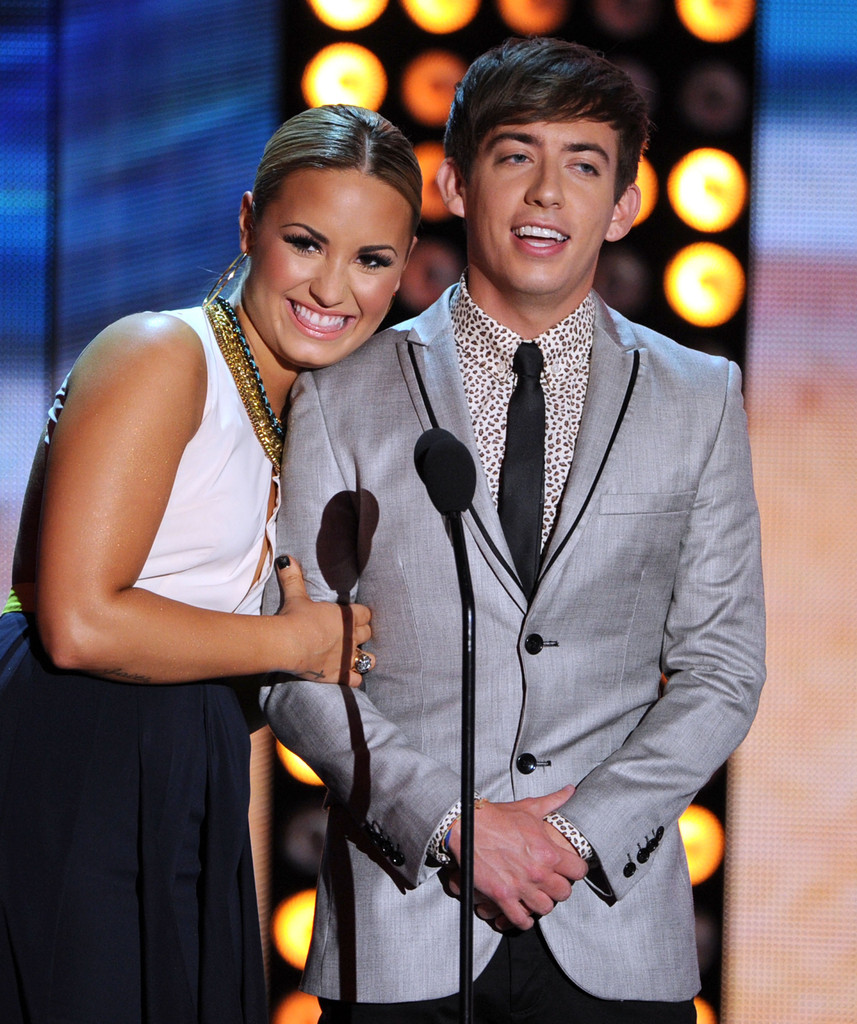 Demi Lovato and Kevin McHale s s Teen Choice Awards