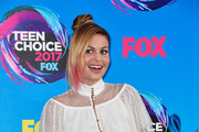 Candace Cameron-Bure attends the Teen Choice Awards 2017 at Galen Center on August 13, 2017 in Los Angeles, California.