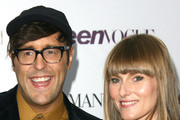 Style Editor & Editor/Blogger for Teen Vogue Andrew Bevan (L) and Teen Vogue Editor-in-Chief Amy Astley attends the Teen Vogue Young Hollywood party on September 27, 2013 in Los Angeles, California.