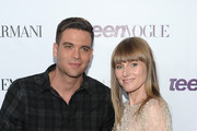 Actor Mark Salling and Teen Vogue Editor-in-Chief Amy Astley attend Teen Vogue Young Hollywood Party on September 27, 2013 in West Hollywood, California.
