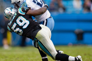 Omar Gaither Tennessee Titans v Carolina Panthers