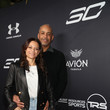Sonya Curry and Dell Curry
