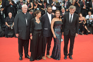 Terence Nance Hend Sabry 'La Vérité' And Opening Ceremony Red Carpet Arrivals - The 76th Venice Film Festival