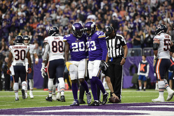 Terence Newman Chicago Bears v Minnesota Vikings