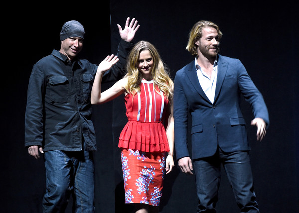 Teresa Palmer Luke Bracey Ericson Core Teresa Palmer And Luke Bracey Photos Cinemacon 2015 Warner Bros Pictures Invites You To The Big Picture An Exclusive Presentation Highlighting The Summer