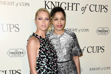 Teresa Palmer Premiere of Broad Green Pictures' 'Knight of Cups' - Arrivals