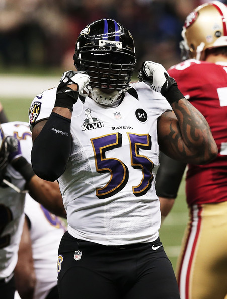Terrell Suggs Pictures - Super Bowl XLVII - Baltimore ...