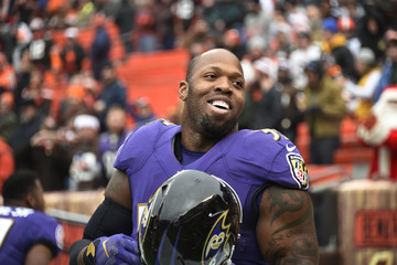 Terrell Suggs Baltimore Ravens v Cleveland Browns