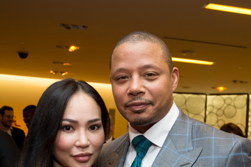 Terrence Howard Saks Fifth Avenue Empire Fashion Week Event