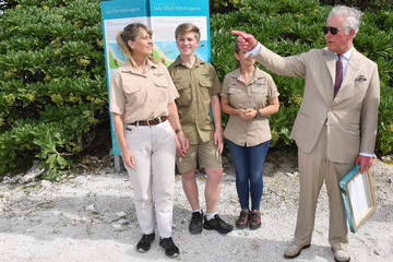 Terri Irwin Prince Of Wales And Duchess Of Cornwall Visit Queensland - Day 3