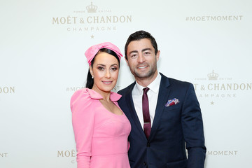 Terry Biviano Celebrities Attend Moet & Chandon Spring Champion Stakes Day