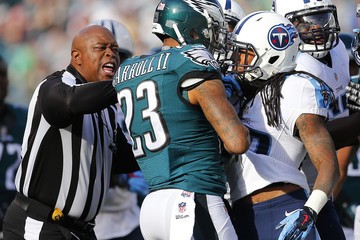 Terry Brown Tennessee Titans v Philadelphia Eagles
