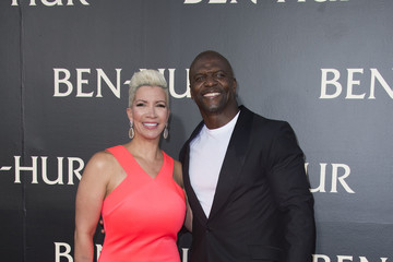 Terry Crews Rebecca Crews 'Ben Hur' LA Premiere - Arrivals