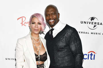 Terry Crews Rebecca Crews Universal Music Group's 2019 After Party To Celebrate The Grammys - Arrivals