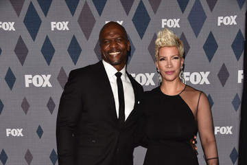 Terry Crews Rebecca Crews 2016 Winter TCA Tour - FOX All-Star Party - Arrivals