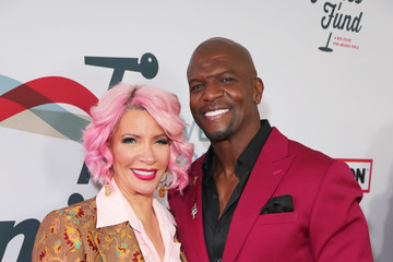 Terry Crews Rebecca King-Crews Steven Tyler's Third Annual GRAMMY Awards Viewing Party To Benefit Janie's Fund Presented By Live Nation - Red Carpet