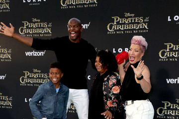 """Terry Crews Premiere of Disney's """"Pirates of the Caribbean: Dead Men Tell No Tales"""" - Arrivals"""