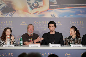 Terry Gilliam 'The Man Who Killed Don Quixote' Press Conference - The 71st Annual Cannes Film Festival