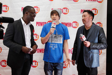 Terry J Backstage at Power 96.1's Jingle Ball