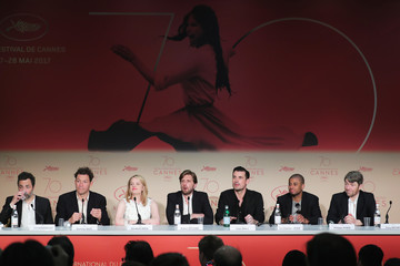 Terry Notary Christopher Laesso 'The Square' Press Conference - The 70th Annual Cannes Film Festival