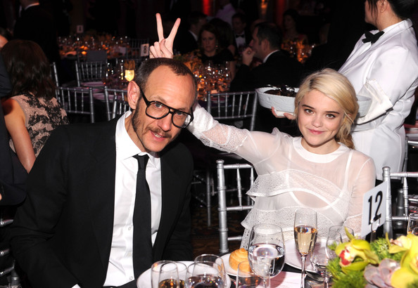 Terry Richardson Terry Richardson and Sky Ferreira attend the amfAR New York Gala To Kick Off Fall 2012 Fashion Week at Cipriani Wall Street on February 8, 2012 in New York City.
