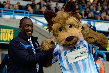 Terry the Terrier Huddersfield Town v Reading - FA Cup Third Round