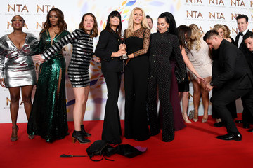 Tess Daly National Television Awards 2020 - Winners Room