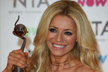 Tess Daly National Television Awards - Winners Room