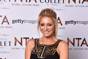 Tess Daly National Television Awards - Inside Arrivals