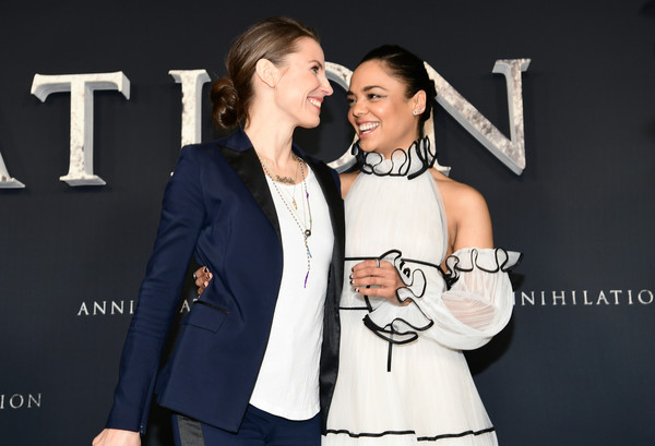"""Premiere Of Paramount Pictures' """"Annihilation"""" - Red Carpet"""