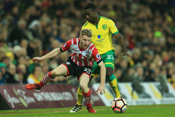 Tettey Norwich City v Southampton - The Emirates FA Cup Third Round
