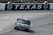 Joe Nemechek, driver of the #8 ROMCO Equipment Co. Chevrolet, drives during practice for the NASCAR Camping World Truck Series PPG 400 at Texas Motor Speedway on June 7, 2018 in Fort Worth, Texas.