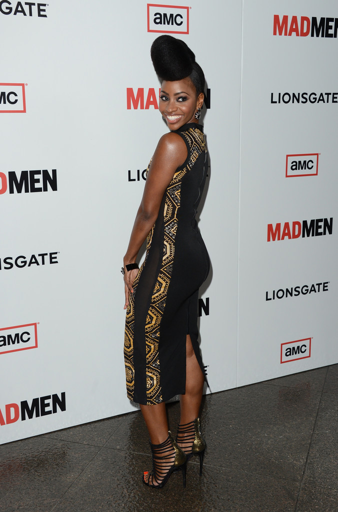 Teyonah Parris - Arrivals at the 'Mad Men' Premiere Party