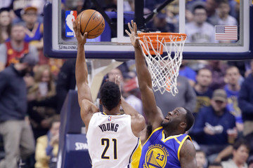Thaddeus Young Golden State Warriors v Indiana Pacers