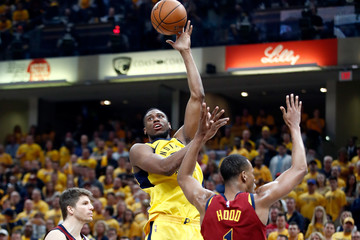 Thaddeus Young Cleveland Cavaliers Vs. Indiana Pacers - Game Six