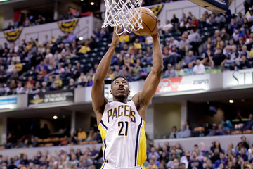 Thaddeus Young Philadelphia 76ers v Indiana Pacers