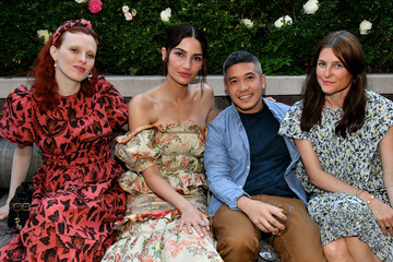 Thakoon Panichgul Lily Aldridge Parfums Launch Event
