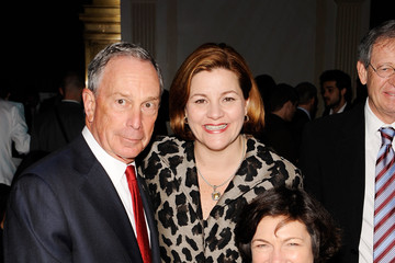 Michael Bloomberg Diana Taylor The 2009 Emery Awards - Inside