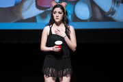 """Isabelle Fuhrman performs during """"The 24 Hour Musicals"""" at The Irene Diamond Stage, Pershing Square Signature Center on June 17, 2019 in New York City."""