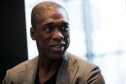 Clarence Seedorf attends a press conference prior to The Best FIFA Football Awards 2016 at the Kameha Grand Zurich hotel on January 9, 2017 in Zurich, Switzerland.