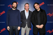 """Kyle Marvin, Andrew Saffir and Michael Angelo Covino attend the screening of """"The Climb"""" at iPic Theater on March 12, 2020 in New York City."""