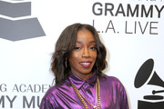 Estelle attends The Drop: Estelle at The GRAMMY Museum on December 03, 2018 in Los Angeles, California.