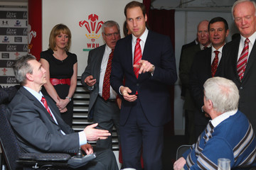 The Duke of Cambridge Duke and Duchess Of Cambridge Attend The Wales Versus New Zealand Autumn International