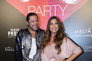 (L-R) Rafael Amargo and Maria Bravo attend the Global Gift Party Marbella on July 15, 2017 in Marbella, Spain.