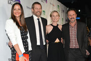 (L-R) Christina McLarty, James Tupper, Anne Heche and David Arquette arrive at The Imagine Ball held at House of Blues Sunset Strip on August 6, 2014 in West Hollywood, California.