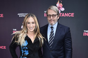 """Sarah Jessica Parker and Matthew Broderick attend """"The Inheritance"""" Opening Night at the Barrymore Theatre on November 17, 2019 in New York City."""
