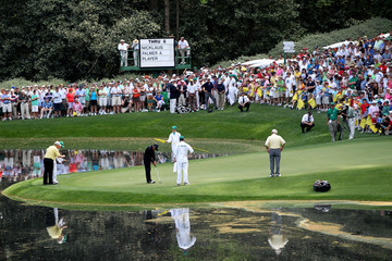 Gary Player Jack Nicklaus The Masters - Preview Day Three