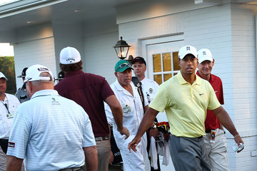 Phil Mickelson Butch Harmon The Masters - Preview Day Two
