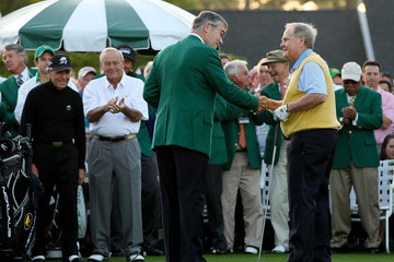 Gary Player William Porter Payne The Masters - Round One