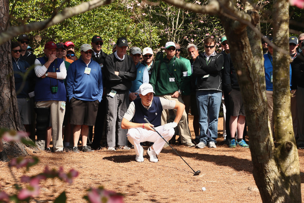 Justin Thomas Justin Thomas Photos The Masters Round One Zimbio